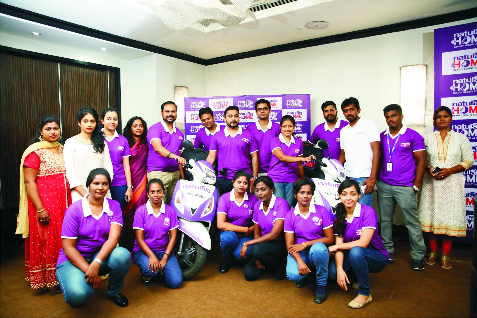 Co Founder Naturals Veena Kumaravel Founder Naturals With Abhinav Khare Ceo