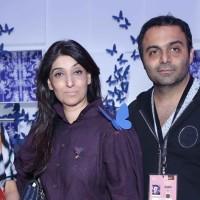 Rasika Wakalkar, Azmina Rahimtoola & Raj Shroff at the launch event of Satya Paul's first pret label _Club SP_ with a capsule line from Nida Mahmood at AIFW AW 2017