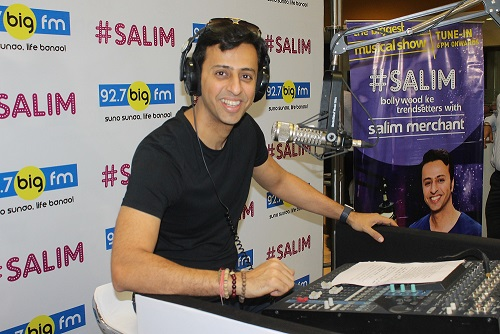 Salim Merchant turns RJ with #Salim