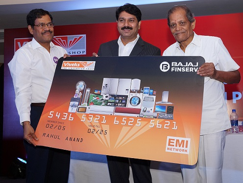 Viveks - Bajaj Finserv - EMI Privilege Card Launch Photo