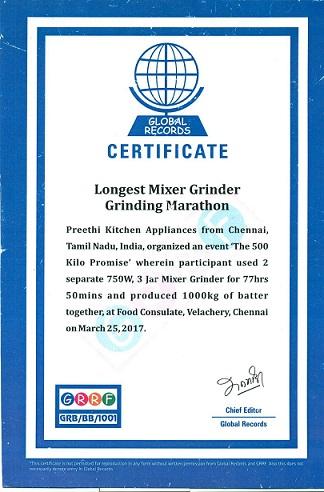 Faceinews Com Preethi Kitchen Appliances Enters Global
