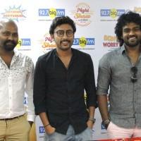 ( From L to R ) RJ Sarithiran, RJ Balaji and RJ Giri Giri at the launch of 92.7 Big FM 's three new shows in Chennai