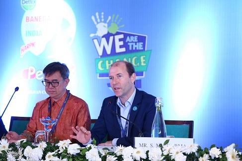 Mr Jack Sim, Founder of World Toilet Organisation , Dr Andreas Brandner Executive Director , Knowledge for Development