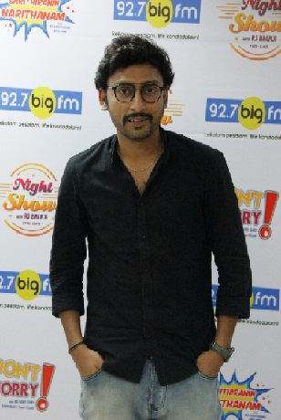 RJ Balaji of 92.7 Big FM