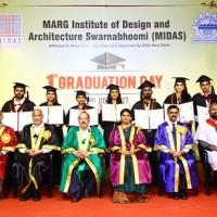 Students of MIDAS Architecture College 2011-16 batch bag Seven University Ranks