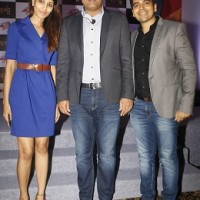 From L to R Khushboo Jain, Co-Founder & COO, Impact Guru, Virender Sehwag and Piyush Jain, Co-Founder & CEO