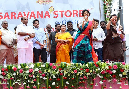 Saravana Stores The Crown Mall Inauguration at OMR - Photo 1