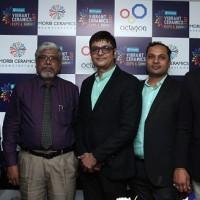 From L to R Hiren Kanani, Ravi Meenakshisundaram-Secratory, IIID, Sandip Patel-CEO, VCES, Vijay Patel-Vice President, VCES & Mukesh Kundariya - Vice President VCES