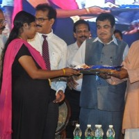 Photo Caption 2 Tourism Minister Kannamthanam distributing the Kit for Pregnant ladies.