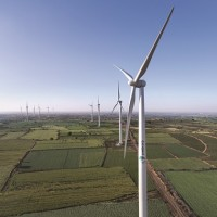 Sembcorp's wind power turbines in India