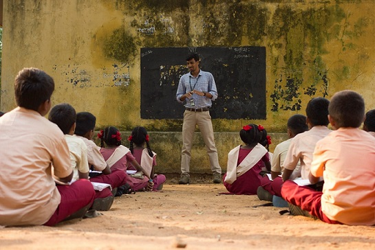 A classroom session in progress