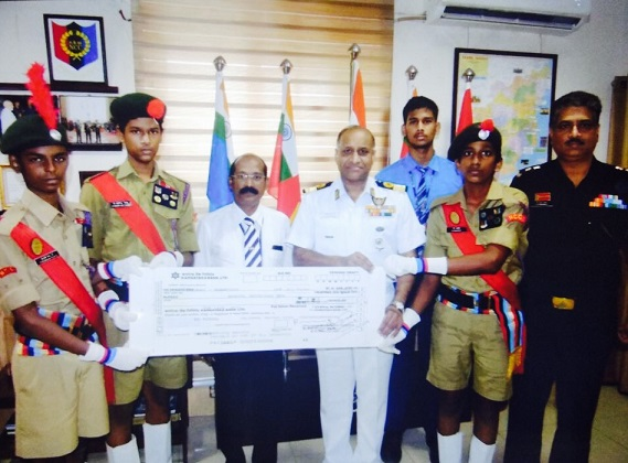 NCC Flag day fund pic