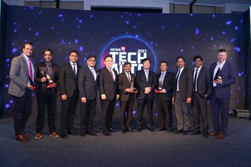 Winners of Tech & Auto Awards