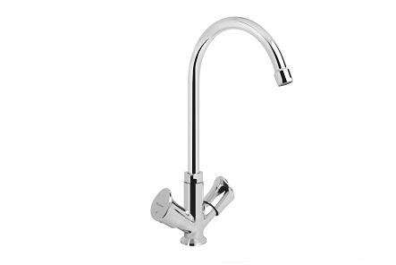 Droplet Deck mounted Sink mixer