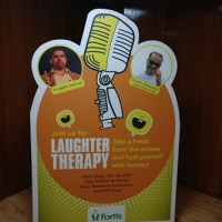 Fortis Hospitals organised laughter therapy session
