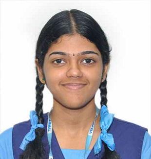 Velammal student Miss G. Gayathri secured State 1st Rank in MOCK NEET – 2018