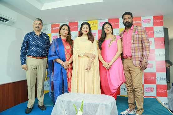 LtoR-Aravinthan, Madhu, Sneha, Laxmi and Thirumalraj, Managing Director, ABC Clinic
