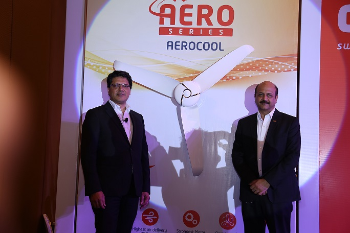 Orient Aerocool - Mr Atul Jain, Sr. VP & Business Head, Fans, Orient Electric with Mr Rakesh Khanna, MD &CEO, Orient Electric