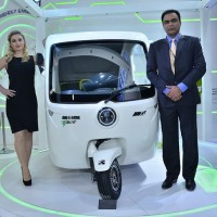 Smiles for the last mile - Future Concept showcased by Greaves Cotton Limited in Collaboration with MG Auto