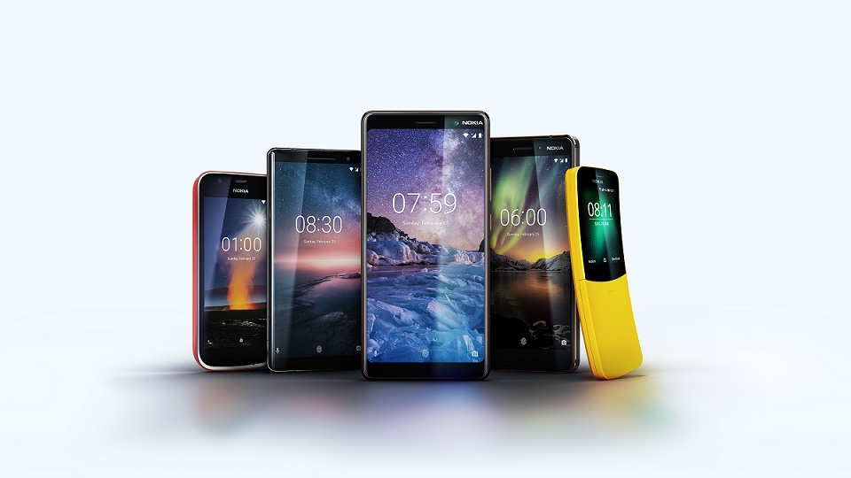 Nokia Family _ Complete product range_MWC 2018