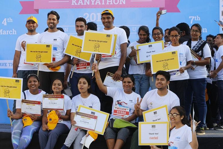 Participants at Kanyathon