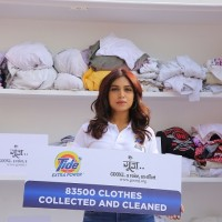 Bhumi Pednekar reveals the figures for the collection drive initiated by Tide Plus Extra Power in association with Goonj