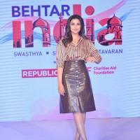 Campaign Ambassador Parineeti Chopra at the launch of Behtar India Season 02
