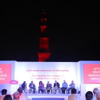 Hemophilia Federation (India) and Shire India come together to light Qut...