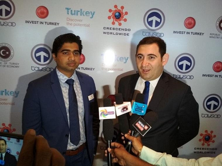 L-R- Vishal Jadhav, President, Crescendo Worldwide & Mr.Sehran Ortac, Turkey Ministry