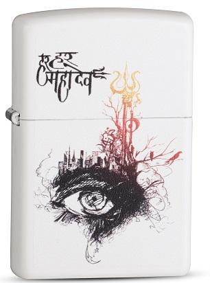Shiva's Third Eye Zippo Windproof Lighter