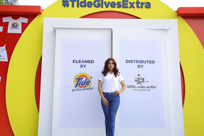 #TideGivesExtra not only with cleaning but also with spreading smiles