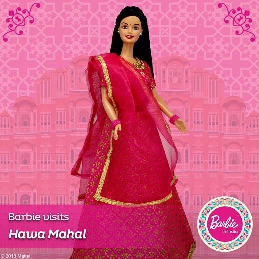Barbie in India - Barbie Visits Hawa Mahal