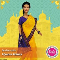 Barbie in India - Barbie Visits Mysore Palace