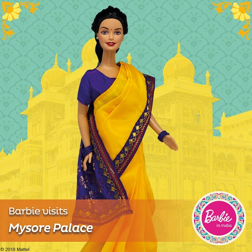 Barbie in India - Barbie Visits Mysore Palace