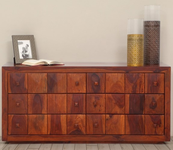 Diamond Chest with Six Drawers