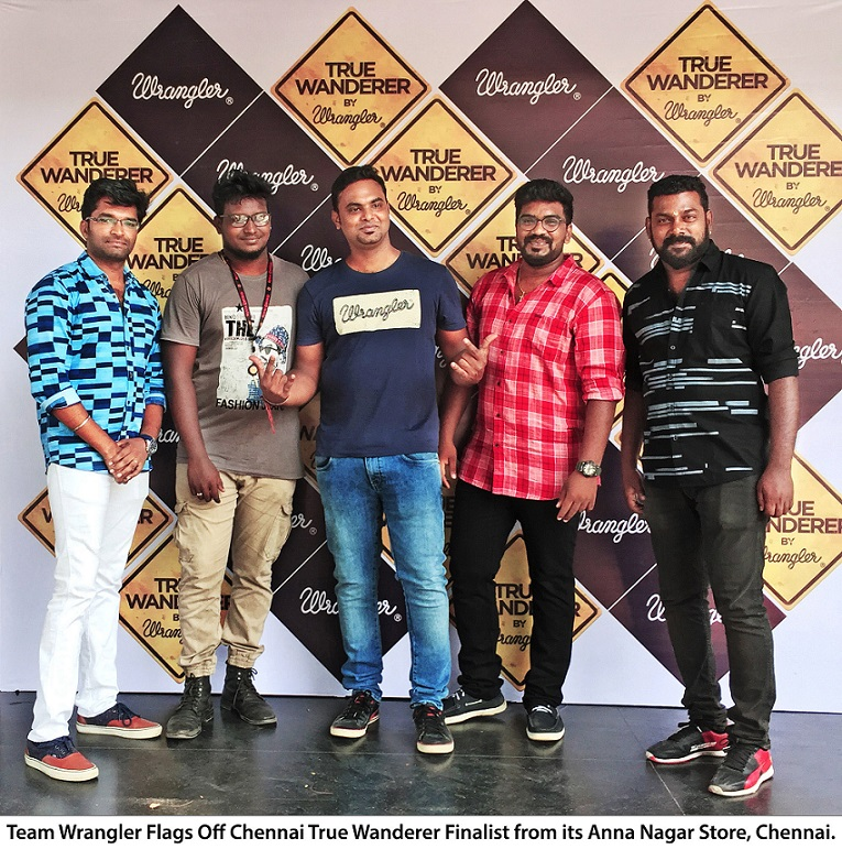 Image Wrangler Flags off the True Wanderers from Chennai