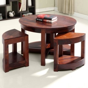 Palid Solid Wood Coffee Table