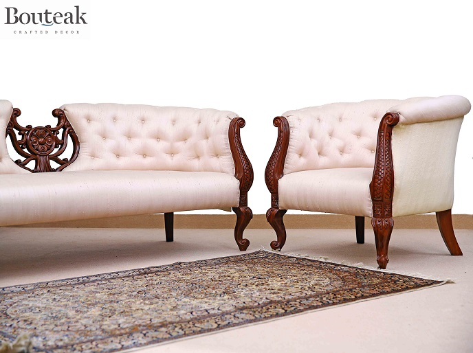 Bouteak Chesterfield Sofa Image 1