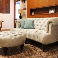 Bouteak Chesterfield Sofa Image 3