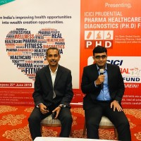 Caption - From Left Mr. S Haresh, Regional Head -Sales & Retail Tamil Nadu & Kerala and Mr. Atul Patel Fund Manager, ICICI Prudential Funds.