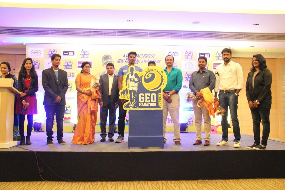 From right to left – Priya Jemima, Soundararajan, Nithyadas Adrews, Dhananjai, Arun, Prapanjan, GSK Velu, Sangeetha, George Steeve, Nandhini, Cathy