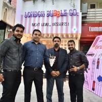 L -R - Mr.Veeral Bafna, Mr.Kamlesh Desharlla, Mr.Parag Badgujar, & Mr.Hitesh Desharlla - Photo - 2
