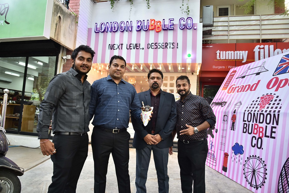 L -R - Mr.Veeral Bafna, Mr.Kamlesh Desharlla, Mr.Parag Badgujar, & Mr.Hitesh Desharlla - Photo - 2