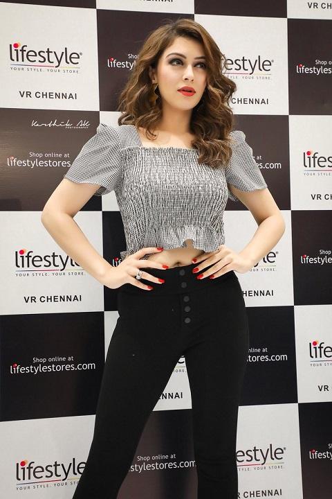 hansika Motwani at Lifestyle VR Chennai Store Launch - 2