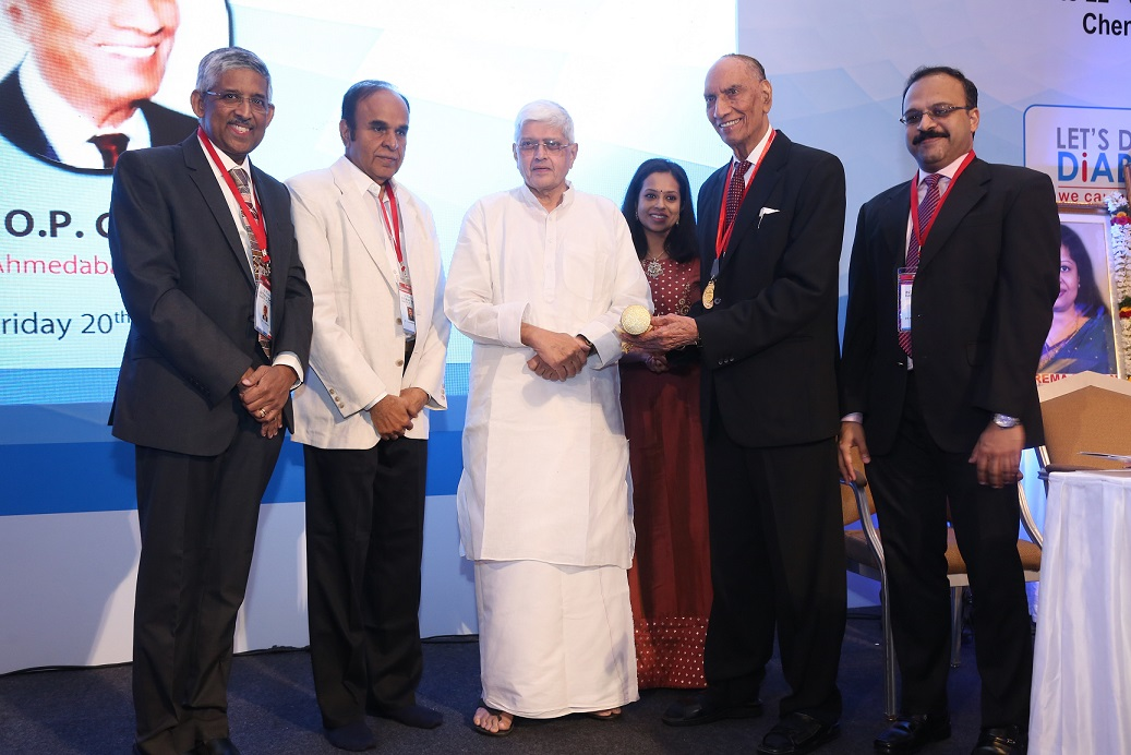 Former Governor of West Bengal and Bihar, inaugurates fifth edition of Dr. Mohan's International Diabetes Update