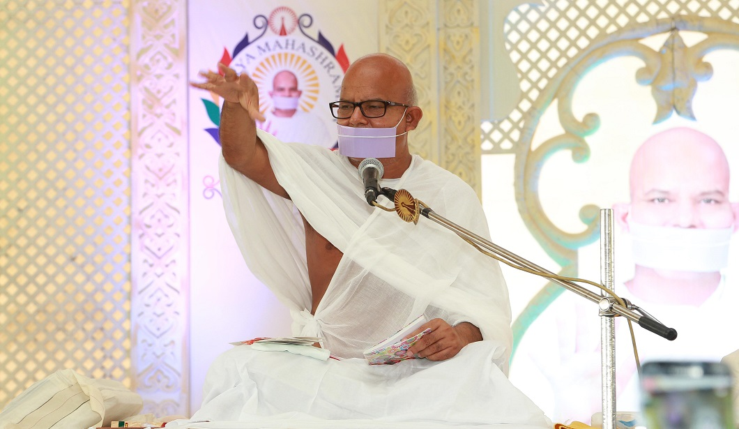 His Holiness Acharya Shri Mahashramanji Photo - 2