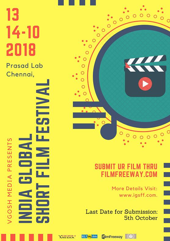 India Global Short Film Festival Poster