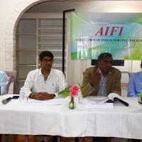 Mr. Vikas Bajaj Mr. Abhay Raj Kapoor Mr. Muralishankar - President- AIFI Mr. Vidyashankar Krishnan - Former President - AIFI and Member of managing committee