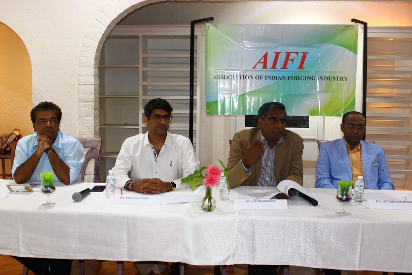 Mr. Vikas Bajaj Mr. Abhay Raj Kapoor Mr. Muralishankar - President- AIFI Mr. Vidyashankar Krishnan - Former President - AIFI and Member of managing committee
