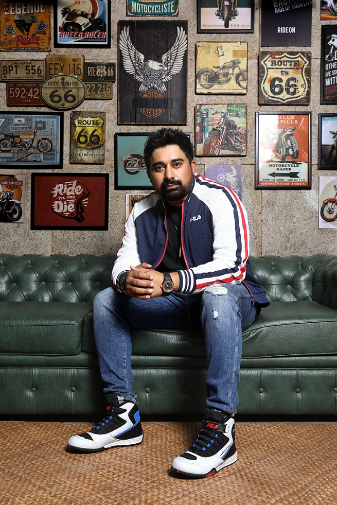 FILA collaborates with Rannvijay Singha for Motorsport Collection